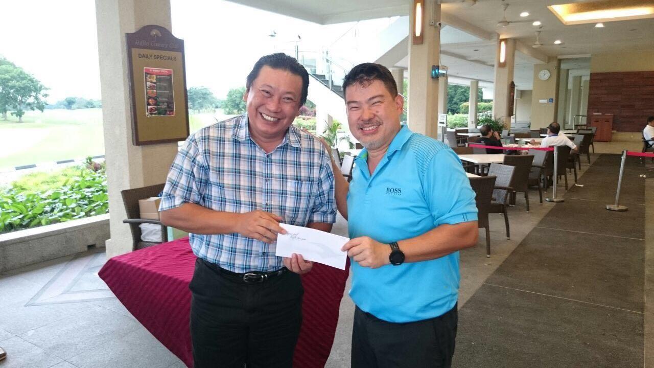 Yong Eng Wah - Winner of the 2017 Golf Challenge