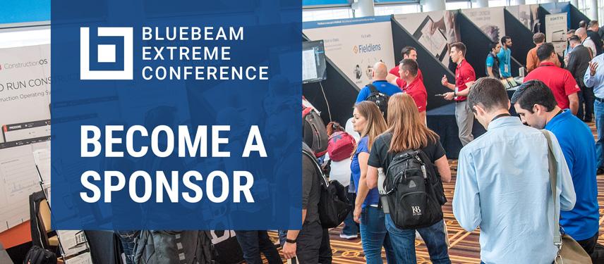 Bluebeam Extreme Conference 2018 | Sponsorships
