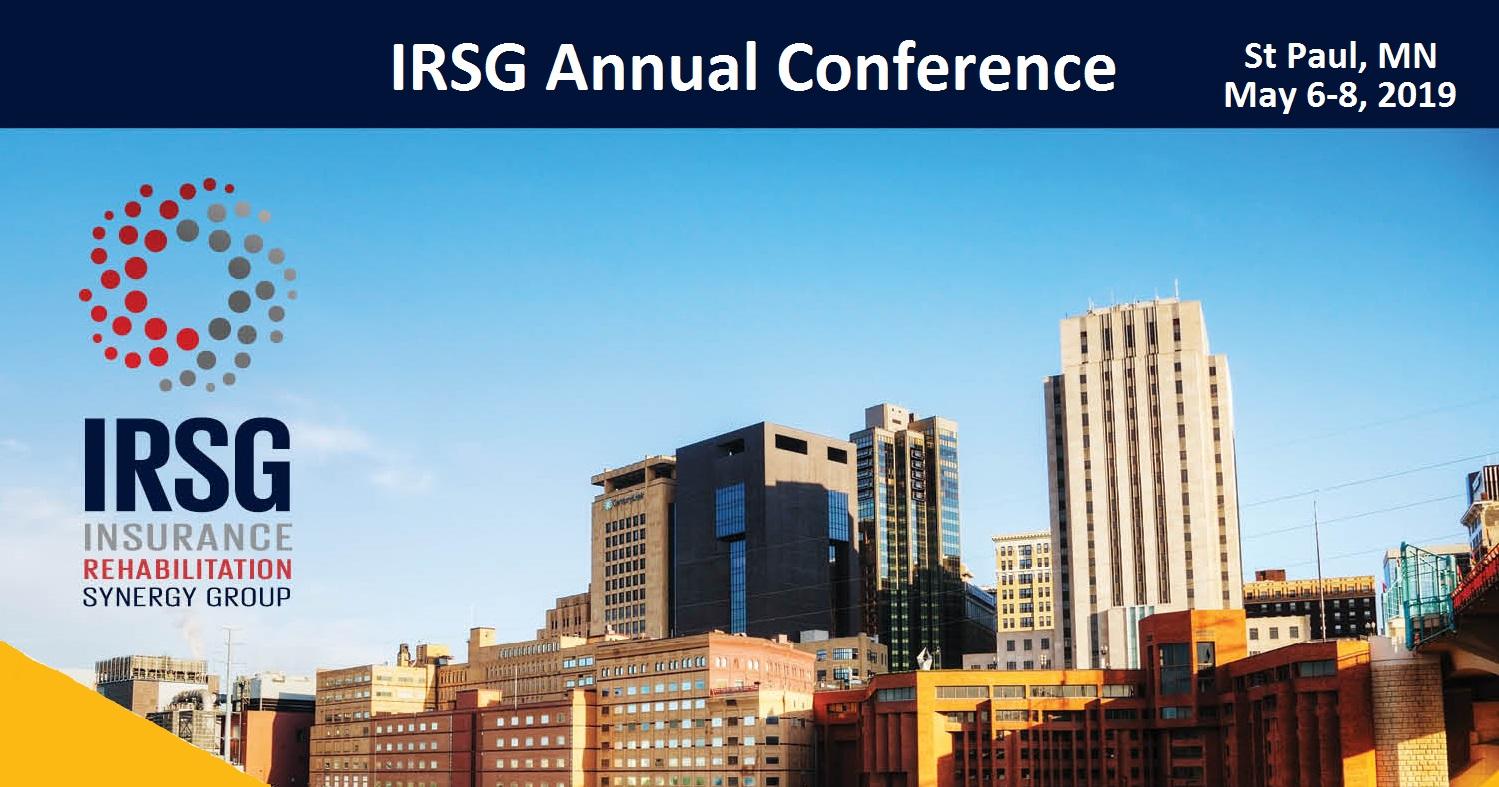 IRSG 2019 Conference Registration