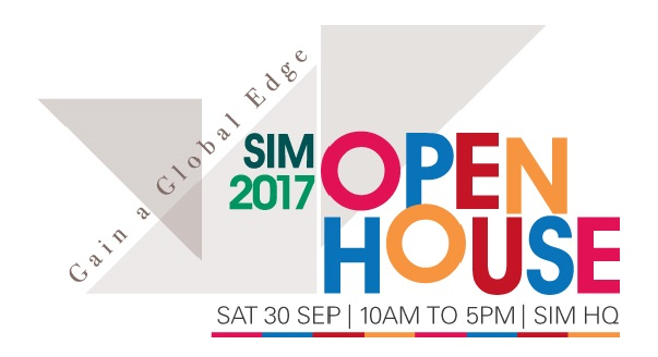 Open House @ SIM - 30 Sept 2017 (Saturday) Parent Info Seminar Diploma and Degree Pathways Registration