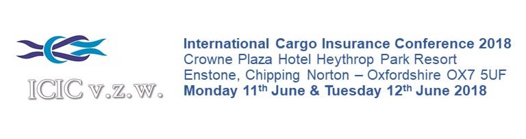 International Cargo Insurance Conference 2018