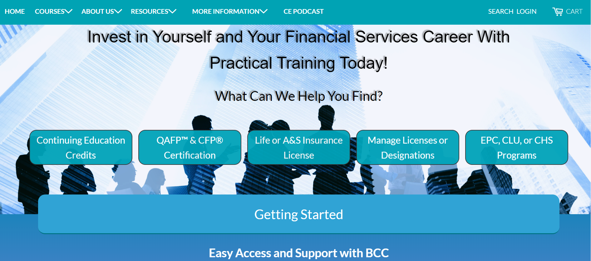 BCC Homepage