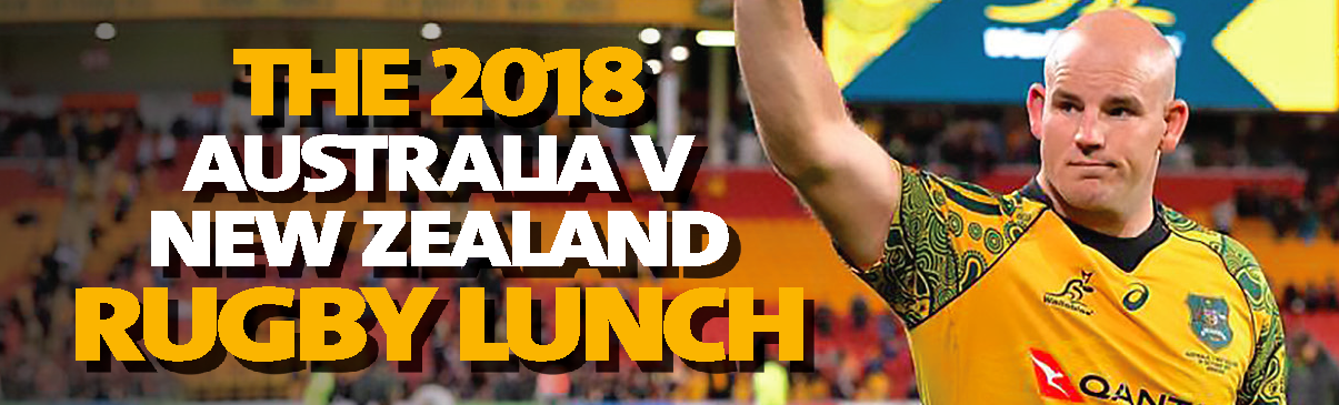 2018 Australia v New Zealand Rugby Lunch
