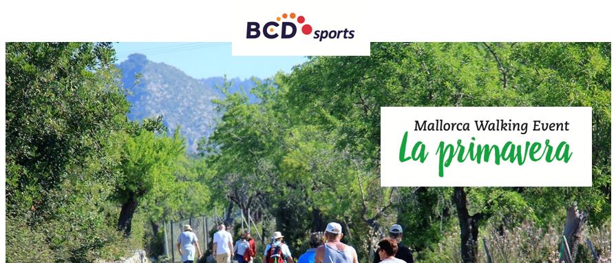 Mallorca Walking Event 10 - 17 april 2018