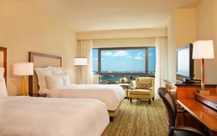 Marriott Boston hotel room