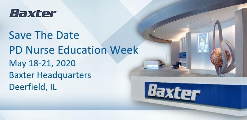 Baxter PD Nurse Education Week