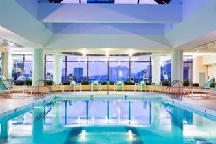 Marriott Boston zwembad