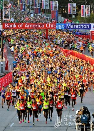 Chicago marathon 3