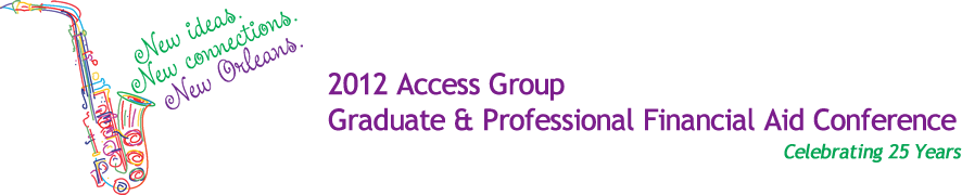 2012 Access Group Grad and Professional Financial Aid Conference header image