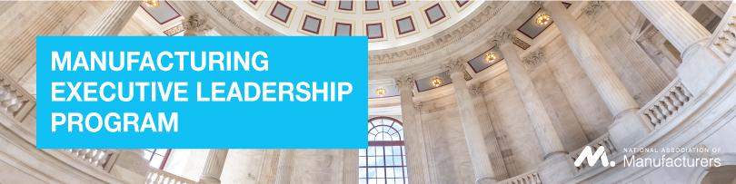 2018 - 2019 Manufacturing Executive Leadership Program