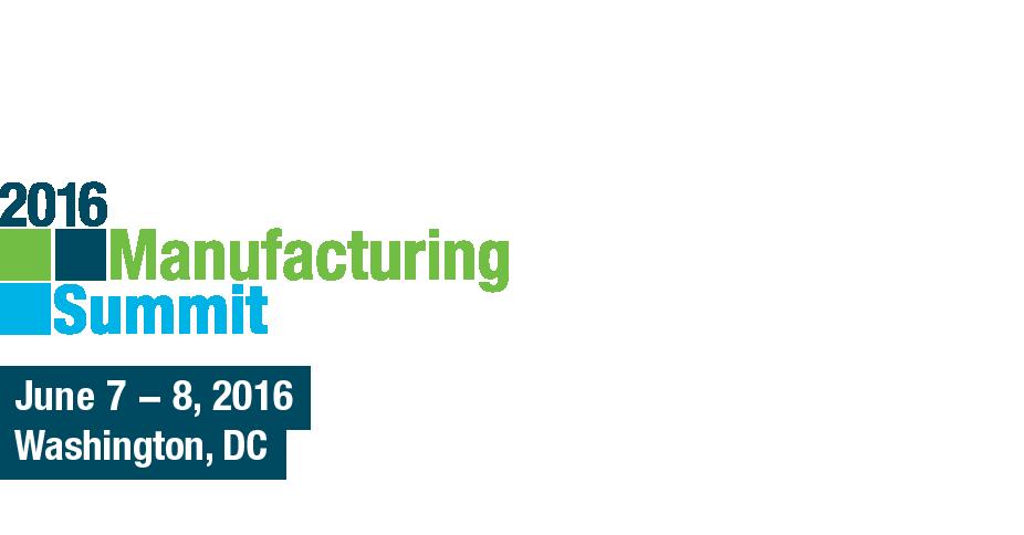 NAM 2016 Manufacturing Summit
