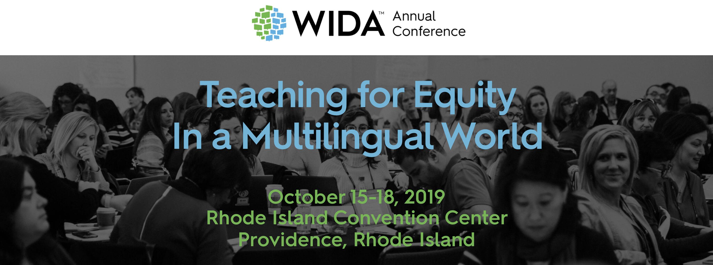 2019 WIDA Annual Conference