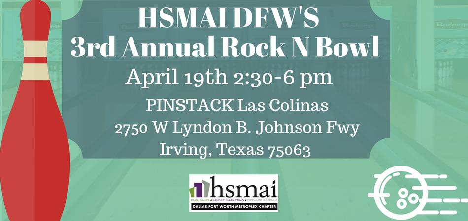 HSMAI DFW 3rd Annual Rock-N-Bowl Tournament