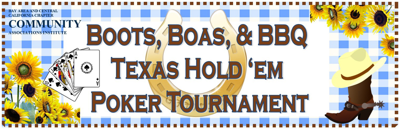 Texas Hold'em Tournament @ Palm Event Center | Pleasanton | California | United States