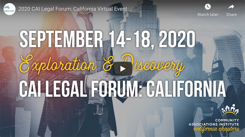 Legal Forum Video Player Image - Cvent