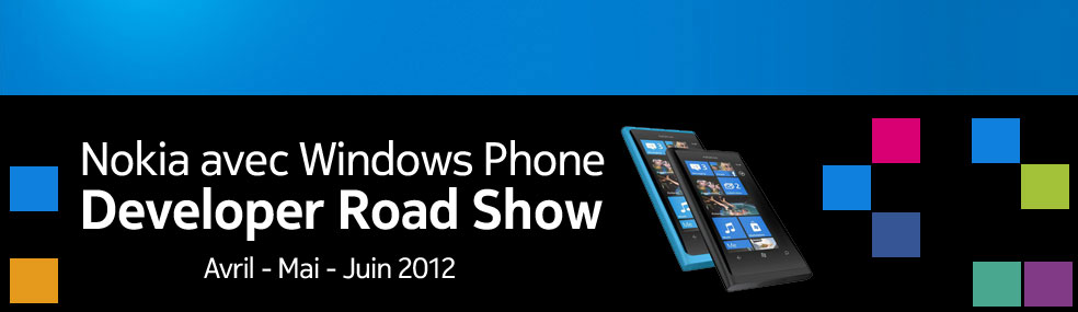 Nokia Windows Phone Road Show - France