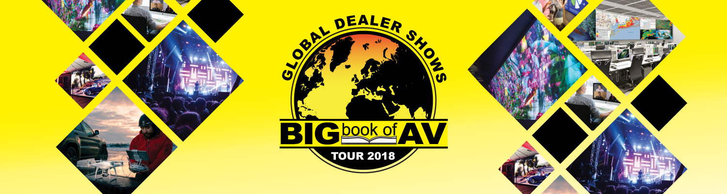 The Big Book of AV Tour Montréal Exhibitor Registration