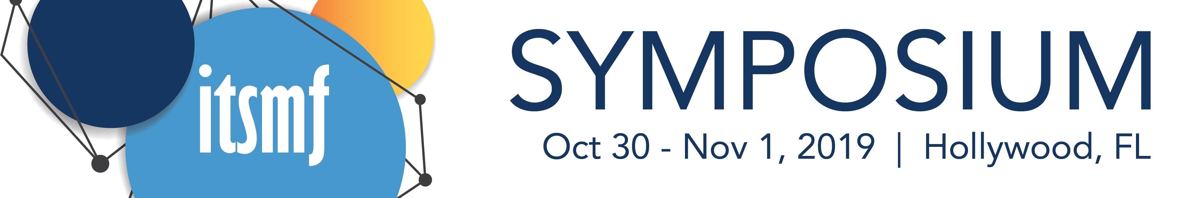 ITSMF Symposium (S3-19)