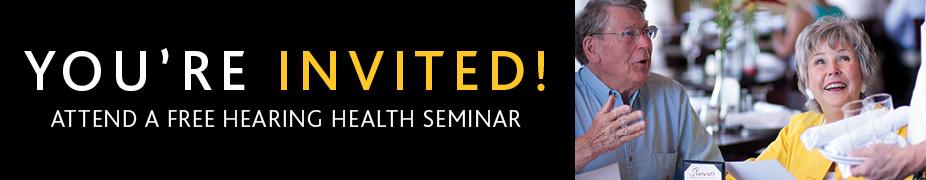 Hearing Health Seminar-Centerville OH