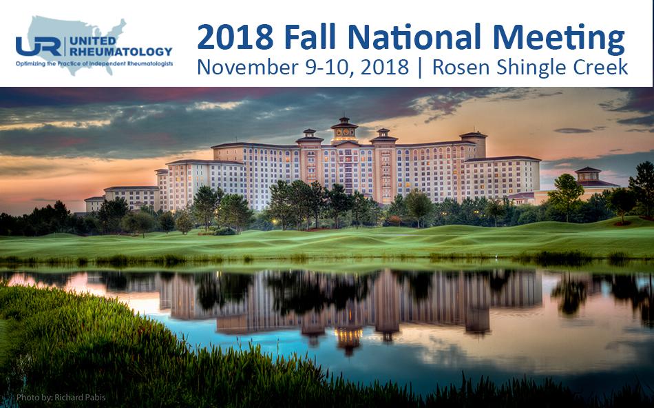 2018 Fall National Meeting