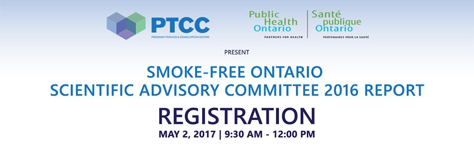 Smoke-Free Ontario Scientific Advisory Committee 2016 Report