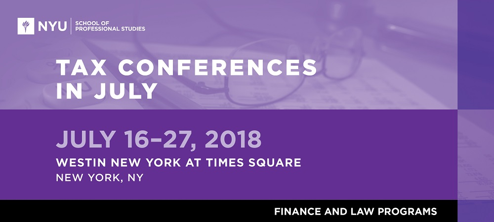 Tax Conferences in July