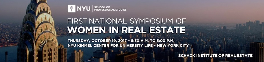 First National Symposium of Women in Real Estate