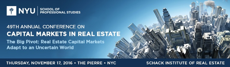 49th Annual Conference on Capital Markets in Real Estate
