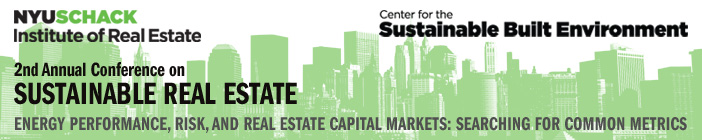 2nd Annual Conference on Sustainable Real Estate