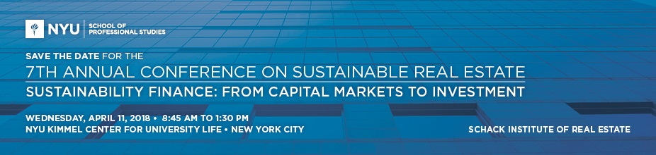 7th Annual Conference on Sustainable Real Estate