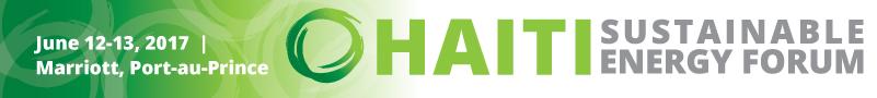 Haiti Sustainable Energy Forum