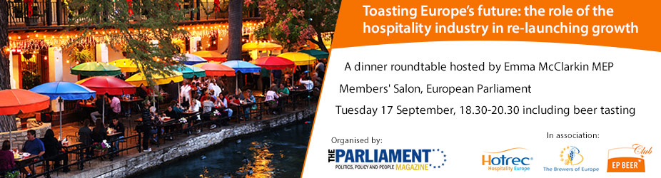 Toasting Europe's future: The role of the hospitality industry in re-launching growth