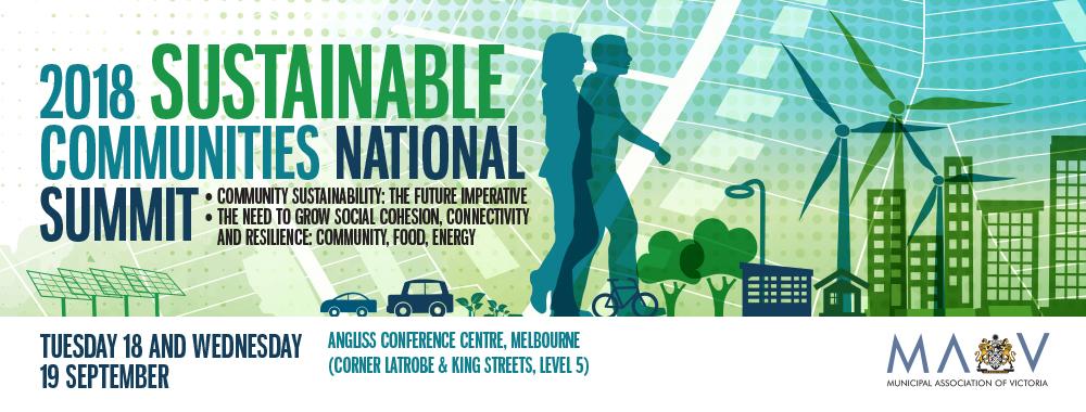 2018 Sustainable Communities National Summit