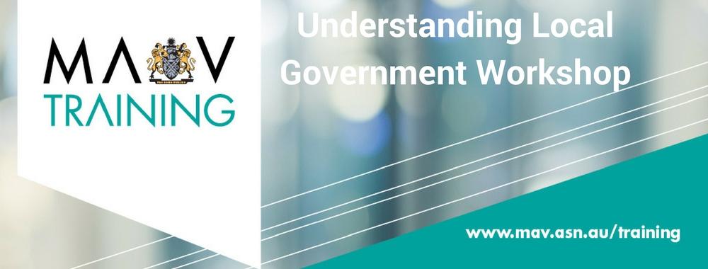 Understanding Local Government Workshop