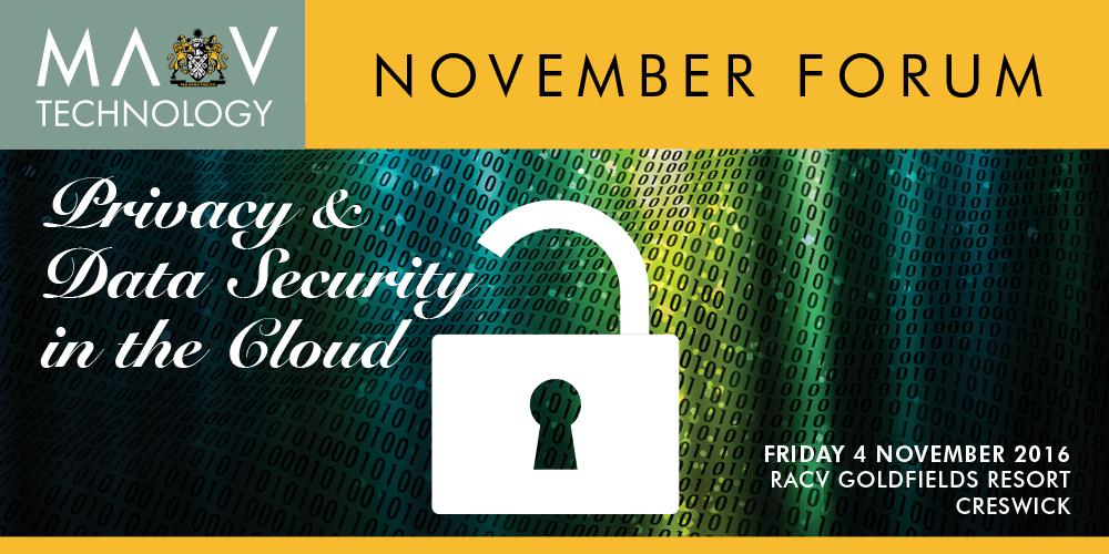 MAV Technology November Forum