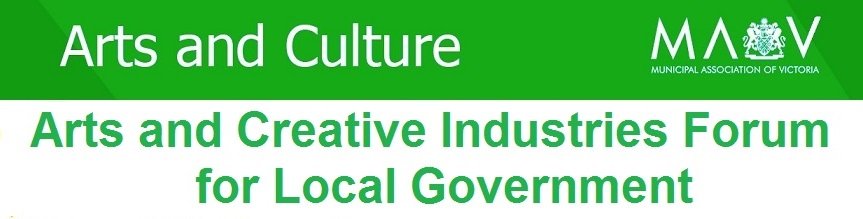 Arts & Creative Industries Forum for Local Government