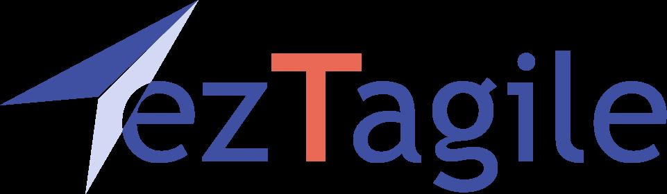 ezTagile White Background Logo png