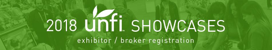 UNFI 2018 Showcases - Exhibitor/Broker Registration