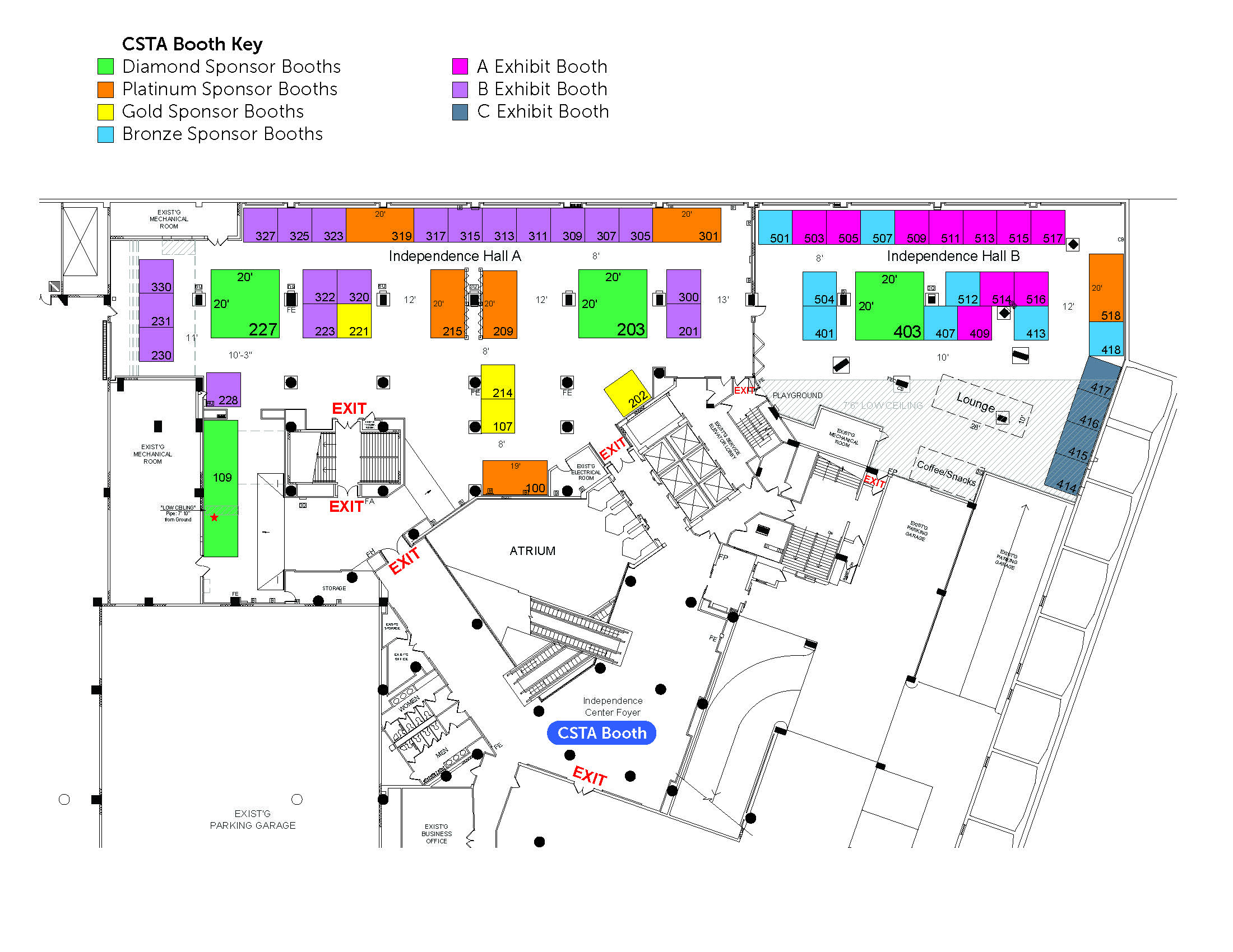 Exhibitor Map for Cvent_Dec 2019