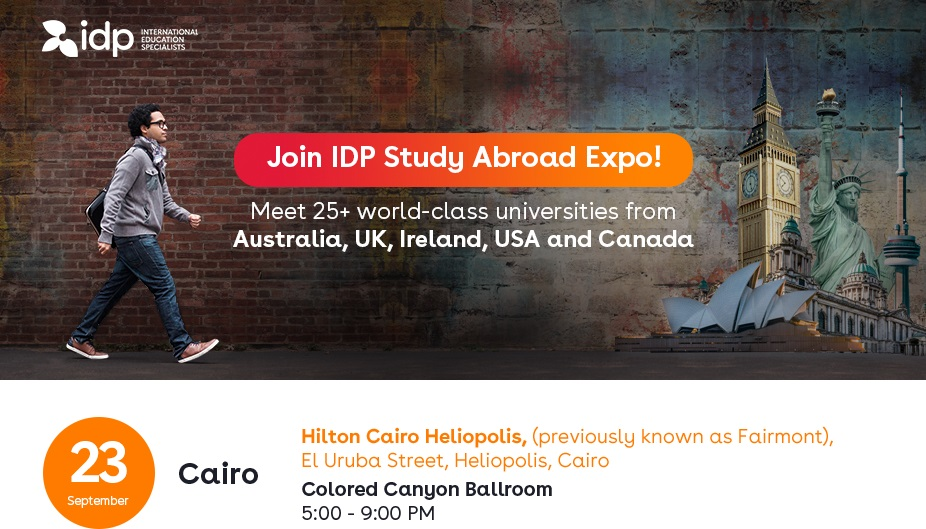 Join IDP Study Abroad Expo!