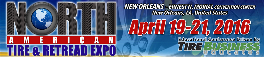 North American Tire & Retread Expo 2016
