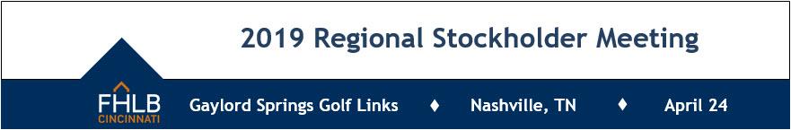 2019 Regional Stockholder Meeting - Nashville, TN