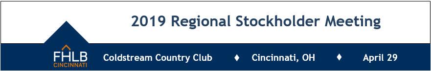 2019 Regional Stockholder Meeting - Cincinnati, OH