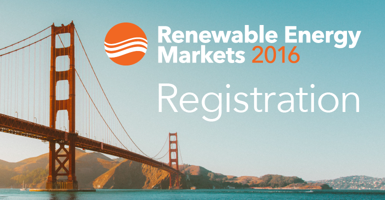 Renewable Energy Markets 2016