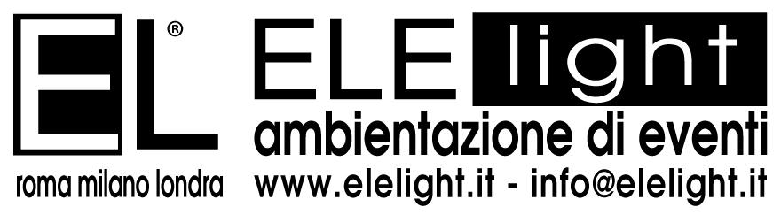 logo - elelight roma milano londra (novembre)