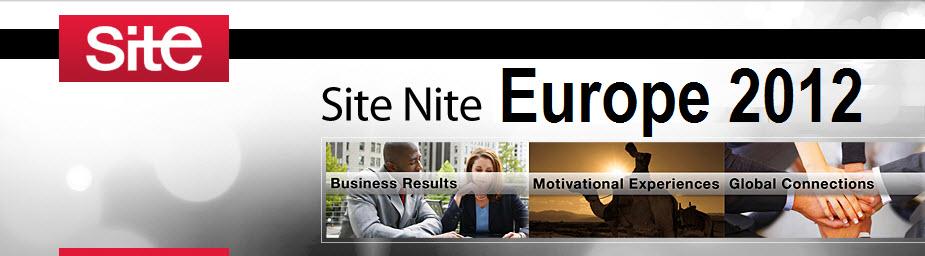 Site Nite Europe 2012