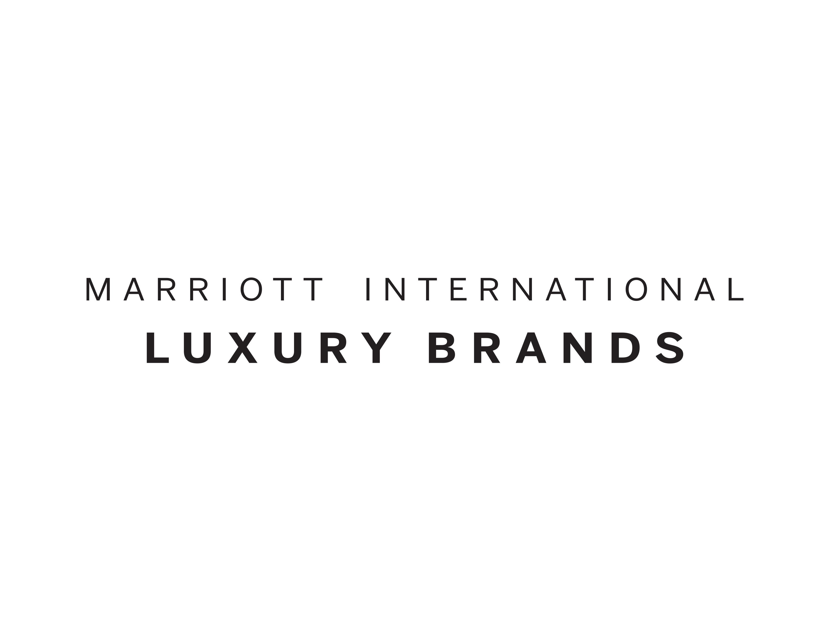 Marriott International Luxury Brand
