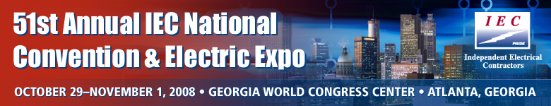 51st Annual IEC National Convention & Electric Expo 2008