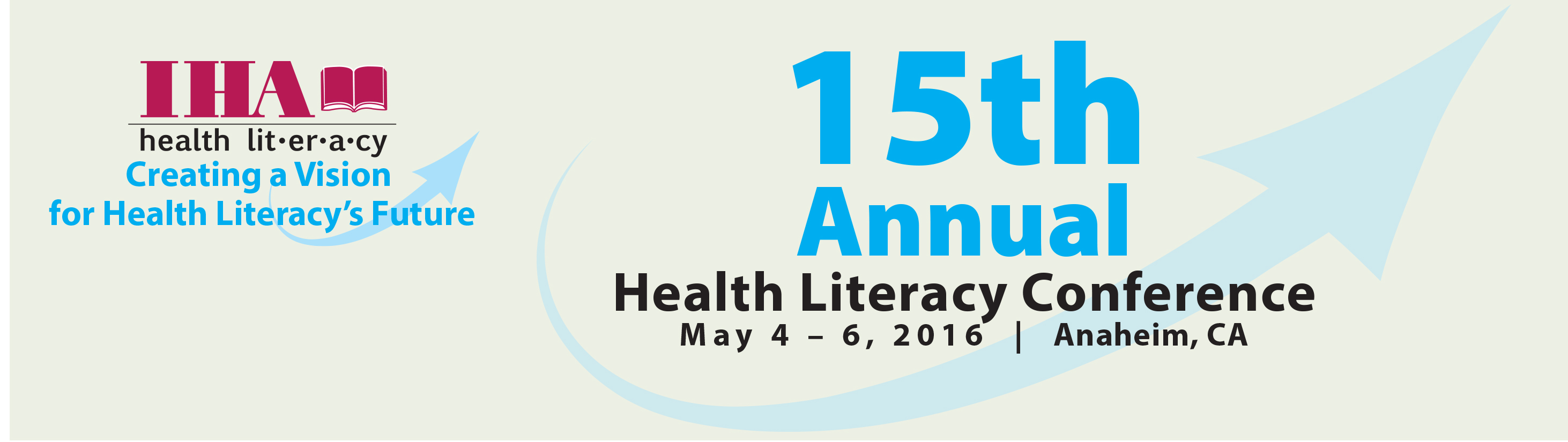 IHA's Health Literacy Conference 2016