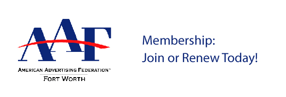 Join the American Advertising Federation - Fort Worth 2016-17